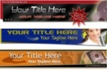Thumbnail Website Templates Bunch Of Header With PLR!