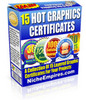 Thumbnail 15 Hot Graphics Certificates PLR!