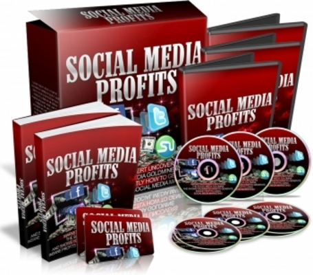 Product picture Sosial Media Profits with Master Resell Rights