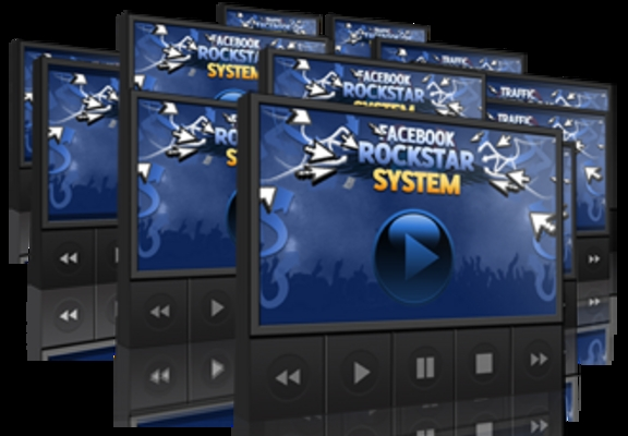Product picture Facebook Rockstar System With Master Resell Rights!