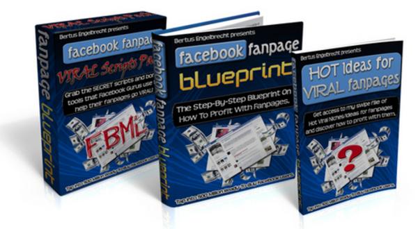 Product picture Facebook Fanpage Blueprint + Bonus With MRR!