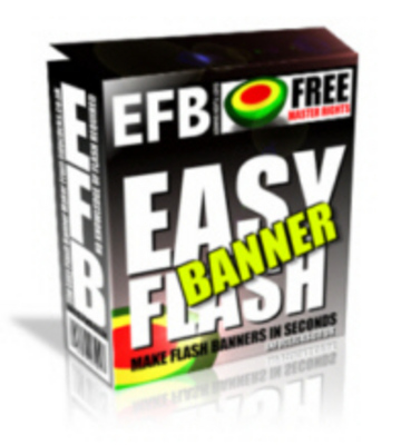 Product picture Easy Flash Banner Maker With MRR!