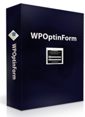 Product picture WP Optin Form with Master Resell Rights!