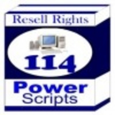Product picture 114 Power Scripts With Master Resale Rights!