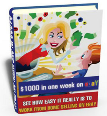 Product picture $1000 In One Week On Ebay with PLR!