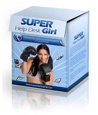 Product picture Super Help Desk Girl with PLR!