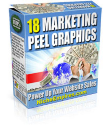 Product picture 18 Marketing Peel Graphics MRR!