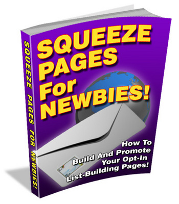 Product picture Squeeze Pages For Newbies PLR!