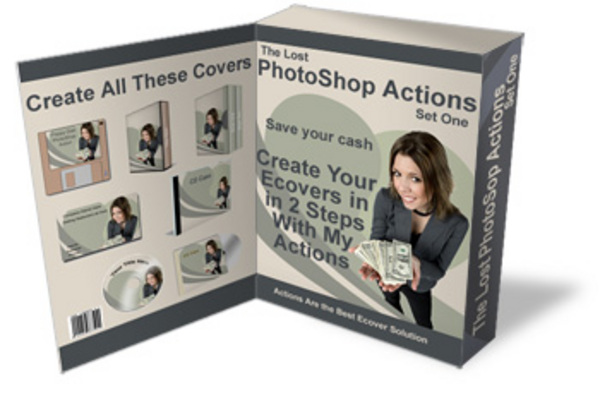 Product picture The Lost Photoshop Actions!