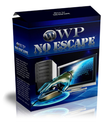 Product picture WP No Escape Plugin with Master Resell Rights!