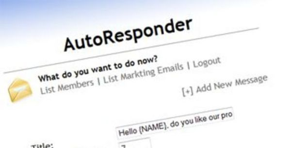 Product picture How To Setup An Auto Responder - Video Tutorial (PLR)