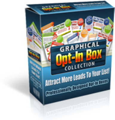 Product picture NEW Graphical Opt-In Box Collection Master Resell Rights!