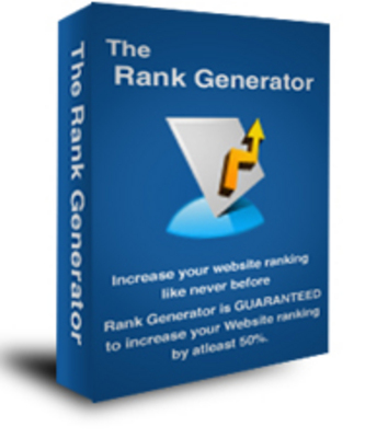 Product picture The Rank Generator With Private Label Rights