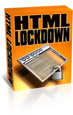 Product picture HTML Lockdown Private Label Rights!