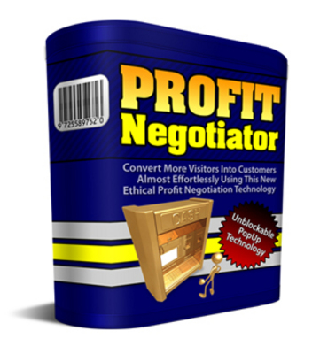Product picture Profit Negotiator PLR!