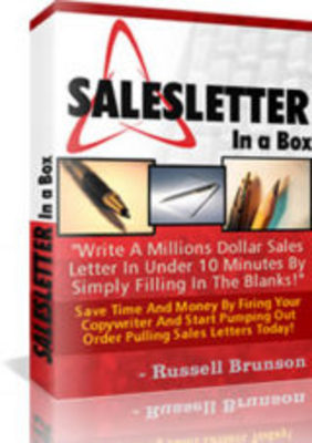 Product picture SalesLetter In A Box Software PLR!